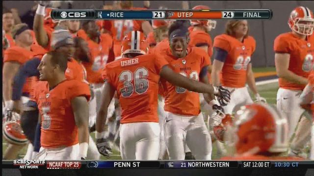 Miners travel to Houston to face Rice Saturday