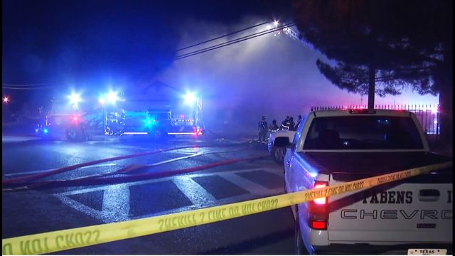 Fire in Fabens destroys home