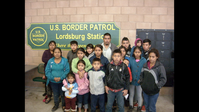 Border Patrol Rescues Migrant Group Abandoned in Freezing Desert