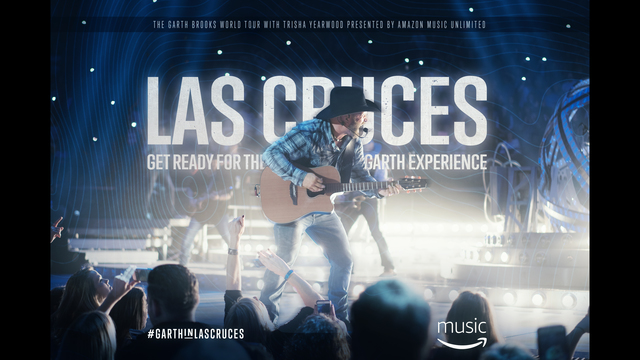 Garth Brooks to play in Las Cruces