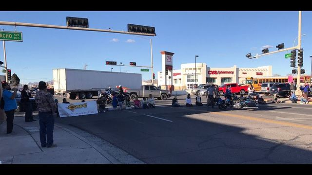 Community Protests Against Las Cruces ICE Raids