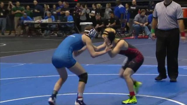 Girl Tascosa Wrestler Falls in State Match to Transgender Boy
