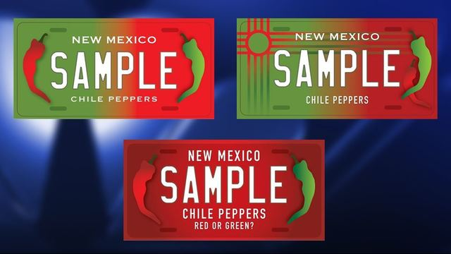 Red or Green? New chile license plates could be coming to NM