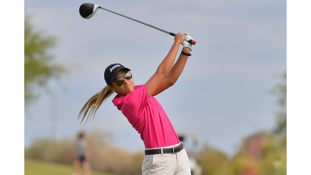 NMSU women's golf now 1st at WAC Championships