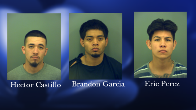 Three Charged in West El Paso Crime Spree