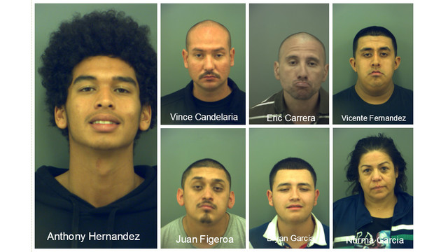 Seven charged with drug possession in school zone