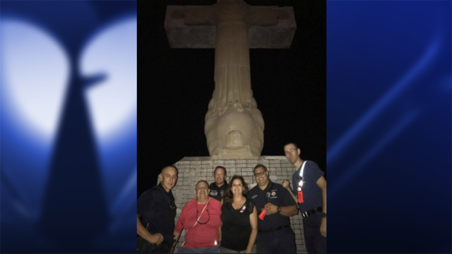 Hikers rescued on Mt. Cristo Rey Friday night