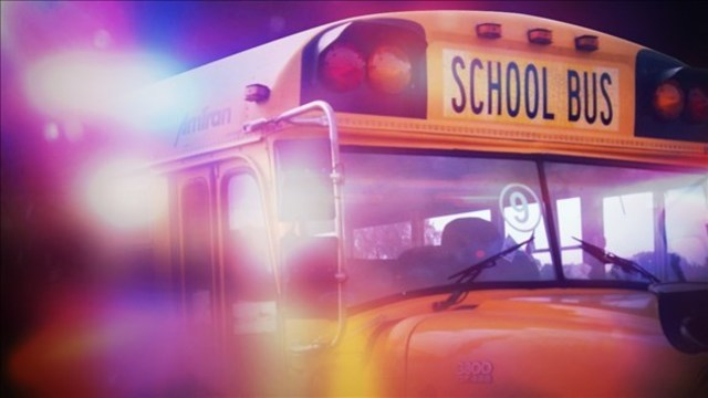 Special education school bus involved in accident