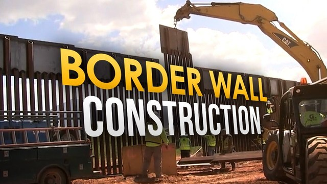 Concrete Border Wall Prototype Contractors Announced