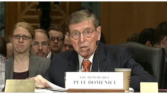 Pete Domenici, former New Mexico senator, dies