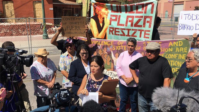 Protesters: Duranguito owners pressured to demolish
