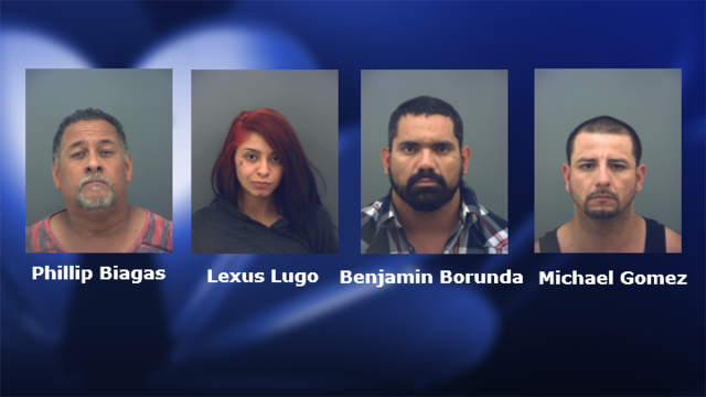 Four arrested in East El Paso home