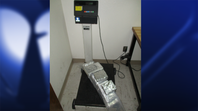 25 pounds of cocaine seized at Presidio port