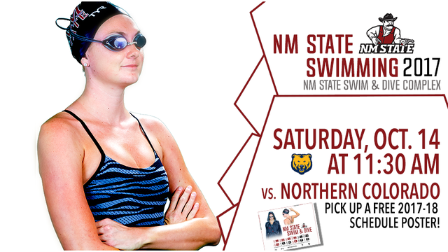 NMSU Swimming to Host Northern Colorado