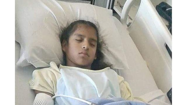Undocumented girl, who was detained in Texas after surgery, to be released