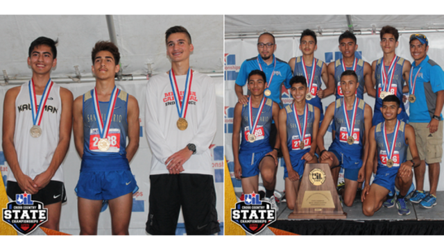 San Elizario cross country team wins 4th straight state championship