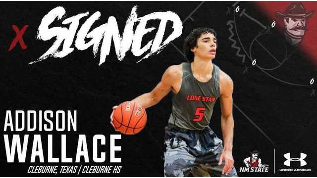 NMSU Men's Basketball Inks Wallace for 2018