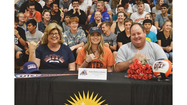 UTEP Volleyball Adds Meshay to 2018 Team