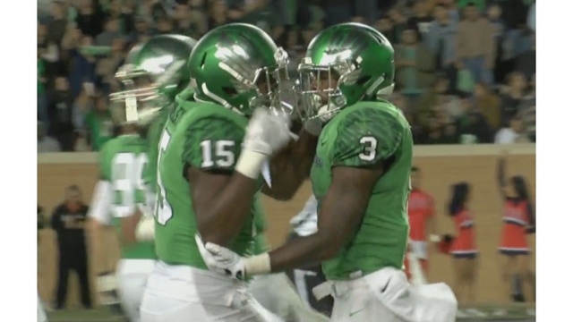 North Texas Handles UTEP 45-10; Miners Fall to 0-10