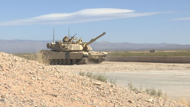 Fort Bliss soldiers hone tank skills in live-fire exercise