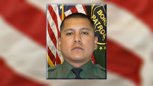 Border patrol agent may have fallen