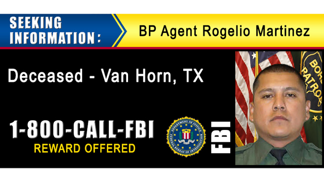 Billboard campaign aims to solve Border Patrol agent death