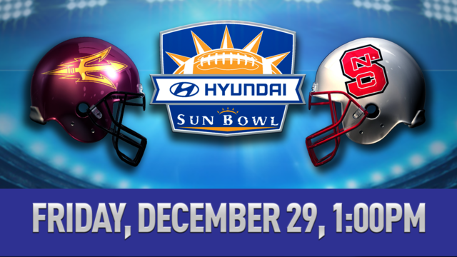 #24 NC State to Meet Arizona State in Hyundai Sun Bowl