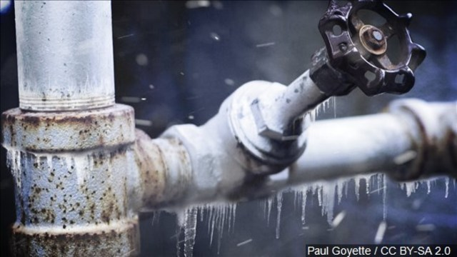 Protect your pipes during cold temperatures