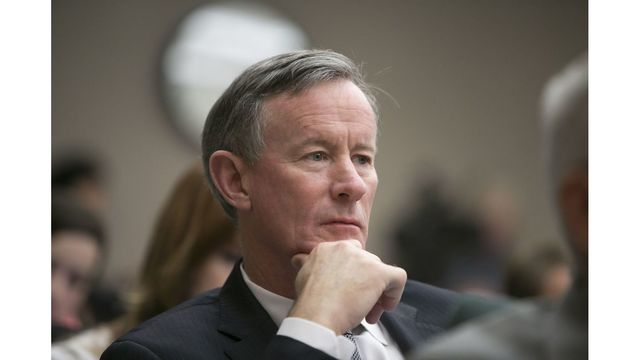 UT System Chancellor Bill McRaven will resign in May