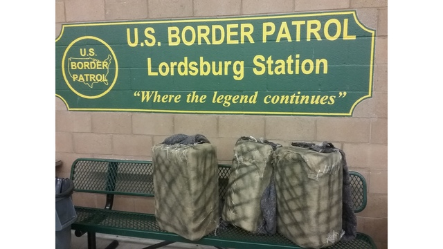 Border Patrol agents seize over three million dollars of cocaine