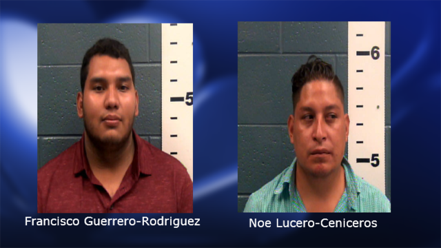 Men facing charges associated with smuggling 40 pounds of cocaine through checkpoints