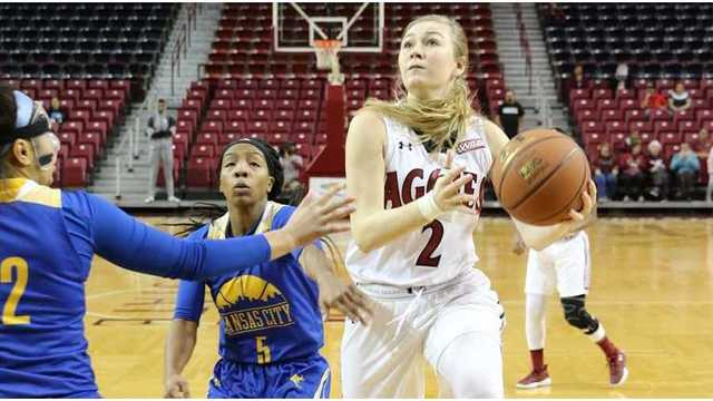 Tip Off Time Set for NMSU's WNIT Game at Wyoming
