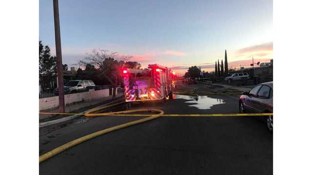 Crews respond to Lower Valley fire
